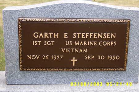 STEFFENSEN, GARTH - Winnebago County, Iowa | GARTH STEFFENSEN