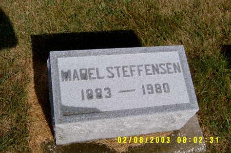 STEFFENSEN, MABEL PHOEBE - Winnebago County, Iowa | MABEL PHOEBE STEFFENSEN