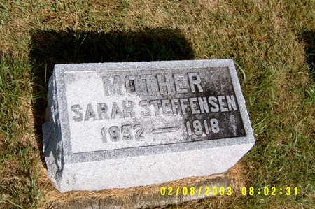 STEFFENSEN, SARAH - Winnebago County, Iowa | SARAH STEFFENSEN