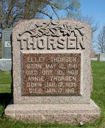 THORSEN, ELLEF - Winnebago County, Iowa | ELLEF THORSEN