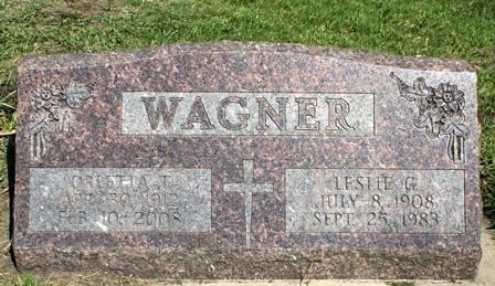 WAGNER, LESLIE G. - Winnebago County, Iowa | LESLIE G. WAGNER