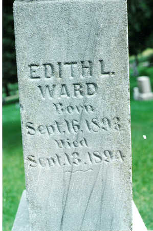 WARD, EDITH - Winnebago County, Iowa | EDITH WARD
