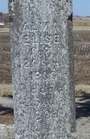 CHRISTOFFERSON, ALMA ELISE - Winneshiek County, Iowa   ALMA ELISE CHRISTOFFERSON