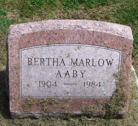 AABY, BERTHA - Winneshiek County, Iowa | BERTHA AABY