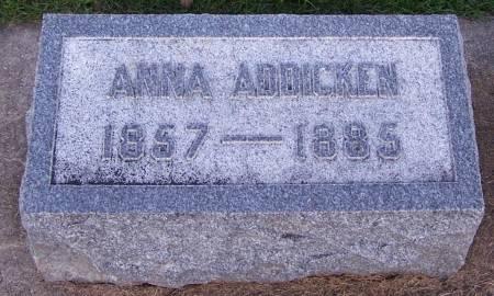 ADDICKEN, ANNA - Winneshiek County, Iowa | ANNA ADDICKEN