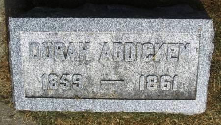 ADDICKEN, DORAH - Winneshiek County, Iowa | DORAH ADDICKEN