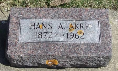 AKRE, HANS A - Winneshiek County, Iowa | HANS A AKRE