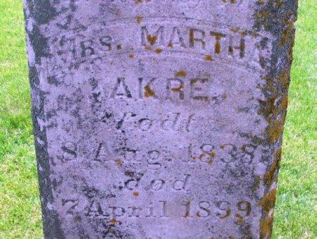 AKRE, MARTHA SEVERIDE - Winneshiek County, Iowa | MARTHA SEVERIDE AKRE
