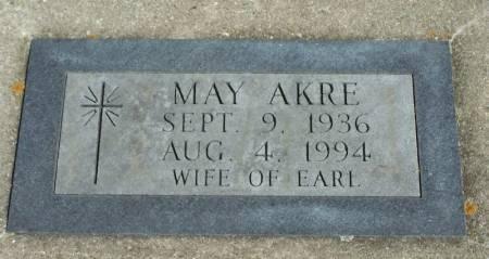 AKRE, MAY - Winneshiek County, Iowa | MAY AKRE