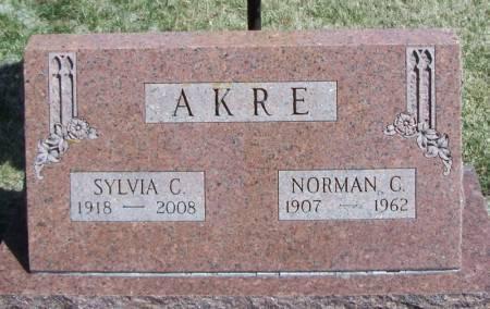 AKRE, NORMAN C - Winneshiek County, Iowa | NORMAN C AKRE