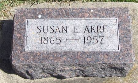 AKRE, SUSAN E - Winneshiek County, Iowa | SUSAN E AKRE