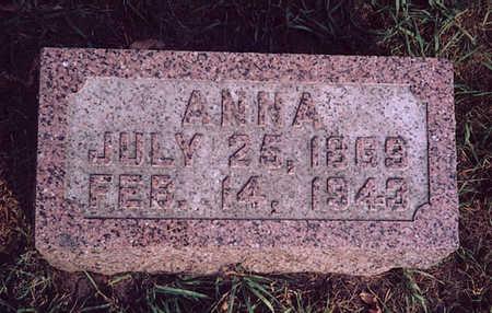 ALBERTSON, ANNA - Winneshiek County, Iowa   ANNA ALBERTSON