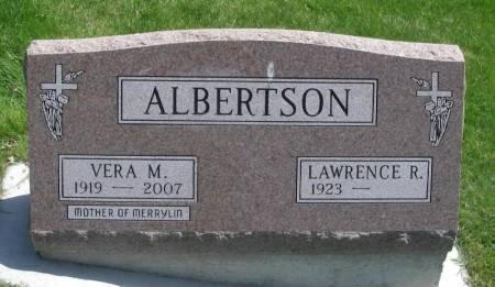 MILLER ALBERTSON, VERA M. - Winneshiek County, Iowa | VERA M. MILLER ALBERTSON