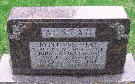 ALSTAD, NEKOLINE A. - Winneshiek County, Iowa | NEKOLINE A. ALSTAD