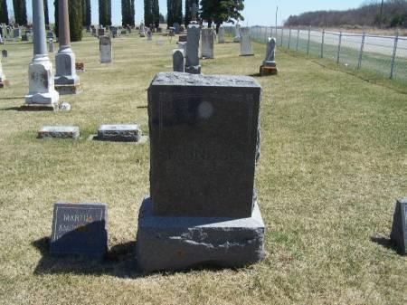 AMUNDSON, AMUNAL FAMILY STONE - Winneshiek County, Iowa | AMUNAL FAMILY STONE AMUNDSON