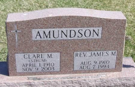 AMUNDSON, CLARE M - Winneshiek County, Iowa | CLARE M AMUNDSON