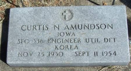 AMUNDSON, CURTIS N - Winneshiek County, Iowa   CURTIS N AMUNDSON