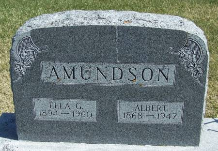 AMUNDSON, ALBERT - Winneshiek County, Iowa | ALBERT AMUNDSON