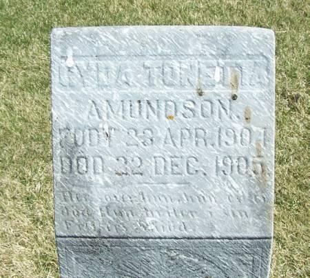 AMUNDSON, GYDA TONETTA - Winneshiek County, Iowa   GYDA TONETTA AMUNDSON