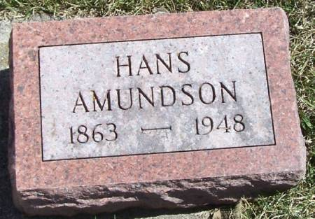 AMUNDSON, HANS - Winneshiek County, Iowa | HANS AMUNDSON