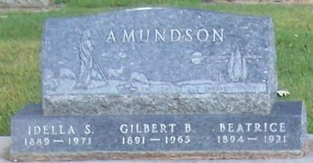 AMUNDSON, GILBERT B - Winneshiek County, Iowa | GILBERT B AMUNDSON