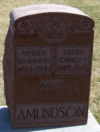 AMUNDSON, IDA MATHILDA - Winneshiek County, Iowa | IDA MATHILDA AMUNDSON
