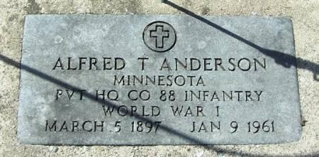 ANDERSON, ALFRED T - Winneshiek County, Iowa | ALFRED T ANDERSON
