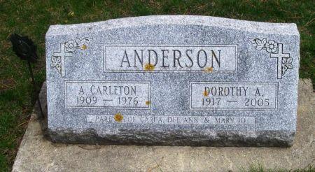 ANDERSON, A. CARLETON - Winneshiek County, Iowa | A. CARLETON ANDERSON