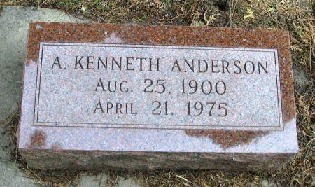 ANDERSON, A. KENNETH - Winneshiek County, Iowa | A. KENNETH ANDERSON