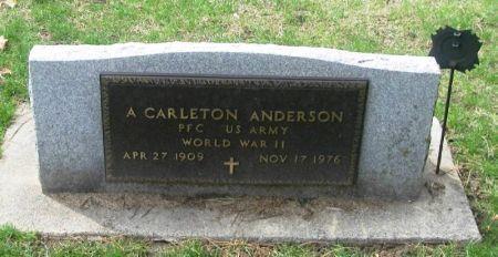 ANDERSON, A. CARLTON - Winneshiek County, Iowa   A. CARLTON ANDERSON