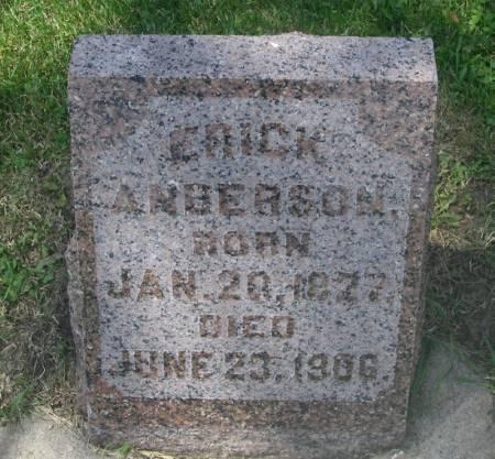 ANDERSON, ERICK - Winneshiek County, Iowa | ERICK ANDERSON