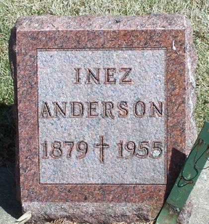 ANDERSON, INEZ - Winneshiek County, Iowa | INEZ ANDERSON