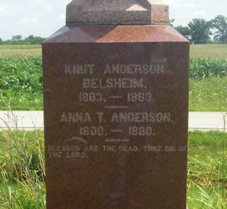 ANDERSON, KNUT - Winneshiek County, Iowa   KNUT ANDERSON