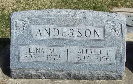 ANDERSON, LENA M - Winneshiek County, Iowa | LENA M ANDERSON