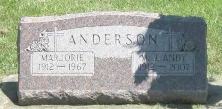 ANDERSON, MARJORIE - Winneshiek County, Iowa | MARJORIE ANDERSON