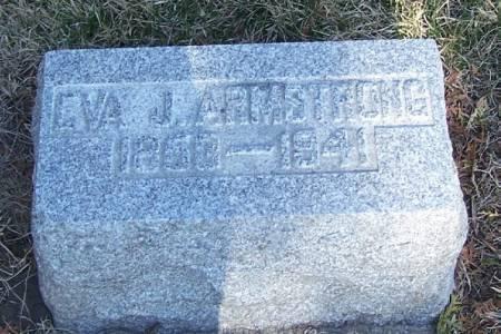 ARMSTRONG, EVA J - Winneshiek County, Iowa | EVA J ARMSTRONG