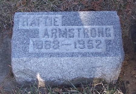 ARMSTRONG, HATTIE - Winneshiek County, Iowa | HATTIE ARMSTRONG