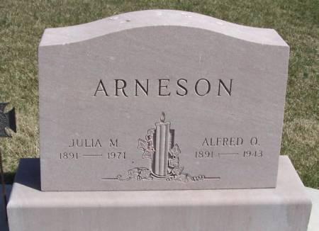 ARNESON, ALFRED O - Winneshiek County, Iowa | ALFRED O ARNESON