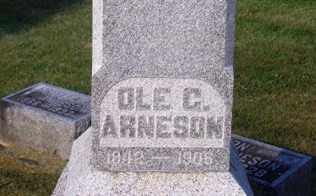 ARNESON, OLE G. - Winneshiek County, Iowa   OLE G. ARNESON