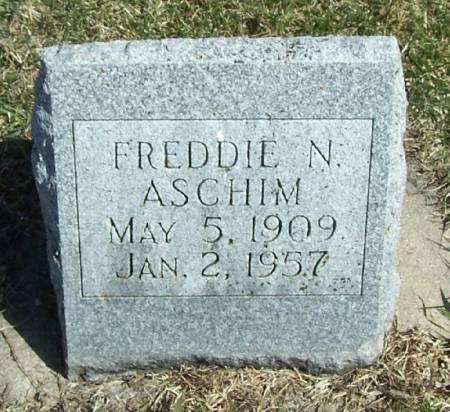 ASCHIM, FREDDIE N - Winneshiek County, Iowa | FREDDIE N ASCHIM