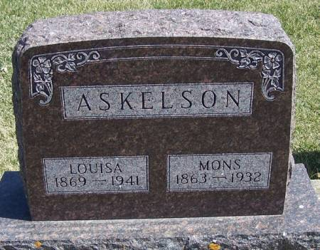 ASKELSON, MONS - Winneshiek County, Iowa   MONS ASKELSON