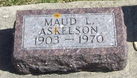 ASKELSON, MAUD L - Winneshiek County, Iowa | MAUD L ASKELSON