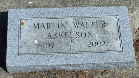 ASKELSON, MARTIN WALTER - Winneshiek County, Iowa   MARTIN WALTER ASKELSON