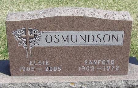 OSMUNDSON, ELSIE - Winneshiek County, Iowa   ELSIE OSMUNDSON