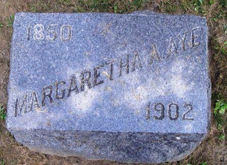 AYE, MARGARETHA A. - Winneshiek County, Iowa | MARGARETHA A. AYE