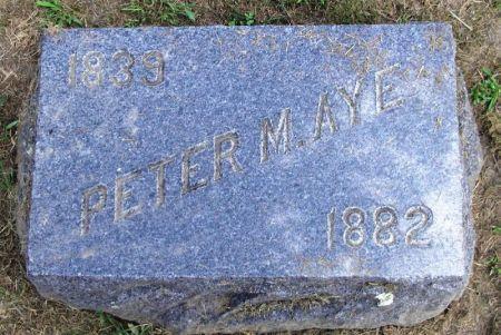 AYE, PETER M. - Winneshiek County, Iowa | PETER M. AYE