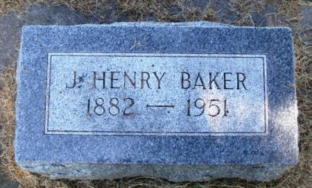 BAKER, J. HENRY - Winneshiek County, Iowa | J. HENRY BAKER