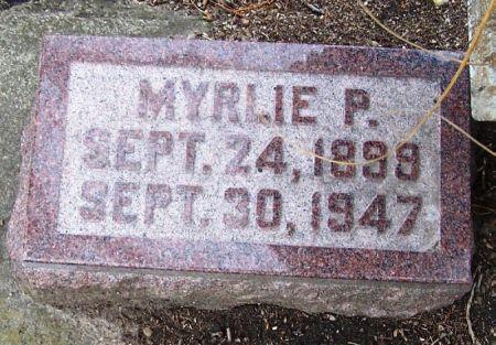 BAKER, MYRLIE P. - Winneshiek County, Iowa | MYRLIE P. BAKER