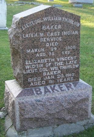 BAKER, ELIZABETH - Winneshiek County, Iowa | ELIZABETH BAKER