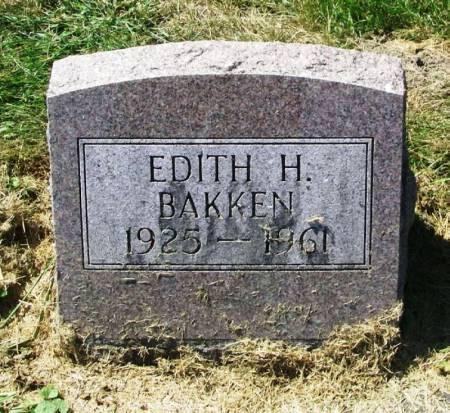 BAKKEN, EDITH H. - Winneshiek County, Iowa | EDITH H. BAKKEN